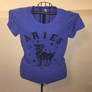 Aries Sky Blue T-shirt